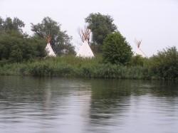 Vergrote afbeelding van Bijzonder overnachten Eiland de Kluut CampSpirit in Biddinghuizen