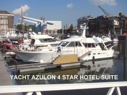 Vergrote afbeelding van Bijzonder overnachten B&B Yacht Hotel Suite in Rotterdam