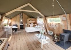 Vergrote afbeelding van Bungalow, vakantiehuis Luxe Safari Lodges Guesthouse De Heide in Oeffelt