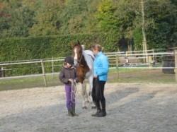 Vergrote afbeelding van Ponykamp, ruiterkamp Stal Holistisch Trainen, Kirsten Daamen in Vlagtwedde