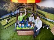 Voorbeeld afbeelding van Bungalow, vakantiehuis Slapen in een Luchtballon in Haaren NB