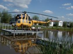 Vergrote afbeelding van Bijzonder overnachten Overnachten in een Echte MI2 Helikopter in Vollenhove