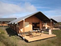 Vergrote afbeelding van Huurtent Safaritenten Camping Corfwater in Petten