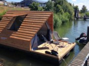 Voorbeeld afbeelding van Bijzonder overnachten Floating Lodge Forteiland Pampus in Muiden