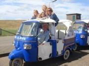 Voorbeeld afbeelding van Groepsactiviteiten TukTuk Express in Oudeschild (Texel)