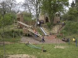 Vergrote afbeelding van Speeltuin Speeltuin Fort Willem in Maastricht