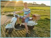 Voorbeeld afbeelding van Groepsactiviteiten Retro scooter verhuur Veluwe in Vaassen