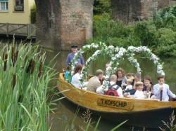 Tweede extra afbeelding van Rondvaart, Botenverhuur Fluisterboot Zutphen in Zutphen