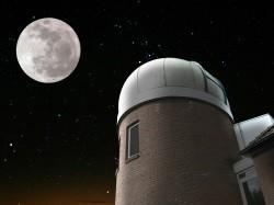 Vergrote afbeelding van Bezoekerscentrum Cosmos sterrenwacht in Lattrop Breklenkamp