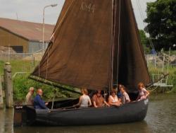 Vergrote afbeelding van Rondvaart, Botenverhuur Stichting Varend Erfgoed Kolhorn in Kolhorn