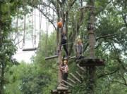 Voorbeeld afbeelding van Klimmen Klimbos Avontuurlijk Paasloo in Paasloo