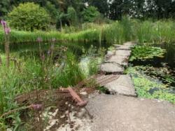 Vergrote afbeelding van Tuinen, Kunsttuinen Kruidenhof te Mallum Eibergen in Eibergen