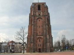 Toren De Oldehove in Leeuwarden